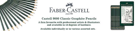 Castell 9000 Pencils